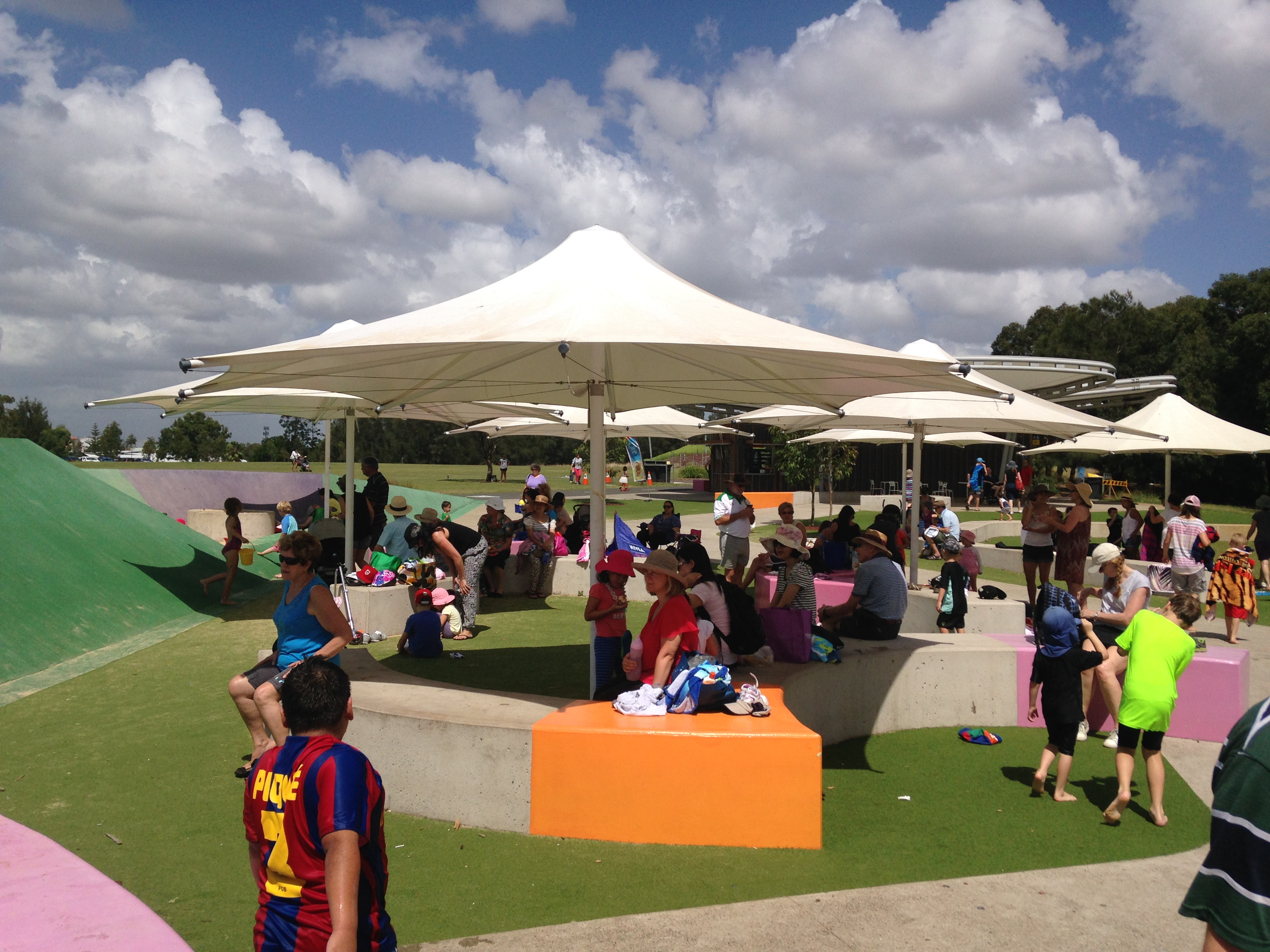 Shaded Area Blaxland Park Review Barefoot Play